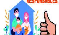 "Campaña de prevención ""Seamos responsables frente al COVID 19"""