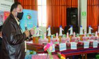 GOBIERNO REGIONAL DE APURIMAC ENTREGA KITS DE SEGURIDAD DESTINADAS A INSTITUCIONES EDUCATIVAS FOCALIZADAS.