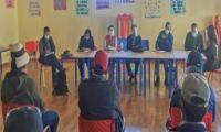 Directora Regional de Educación realizó visita a la II.EE. Nuevo Fuerabamba del distrito de Chalhuahuacho UGEL Cotabambas