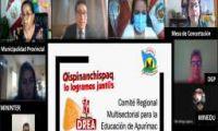 INSTITUCIONES DE APURÍMAC ASUMEN COMPROMISOS PARA EL BUEN RETORNO DEL AÑO ESCOLAR.