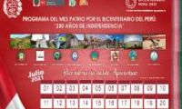 """DRE APURÍMAC 2021- PROGRAMA DEL MES PATRIO POR EL BICENTENARIO DEL PERÚ: """"200 AÑOS DE INDEPENDENCIA"""""""