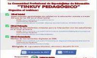 """WEBINAR La Comunidad Profesional de Especialistas de Educación """"TINKUY PEDAGÓGICO"""""""